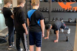 Sportlovsträning för ungdomar